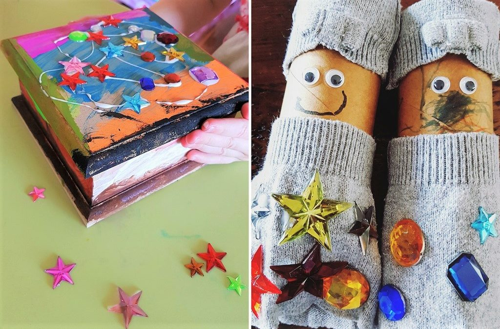 Why you don't need to be creative to start getting arty with your kids
