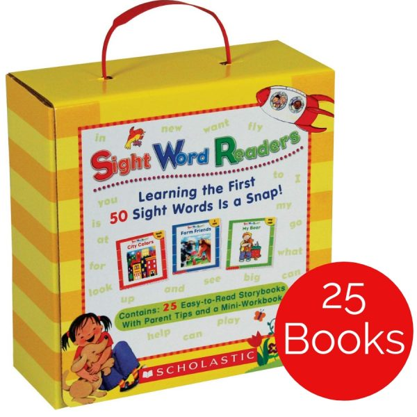 Help your child soar in reading with this set of 25 little books that teach 50 of the most frequently used words in print!