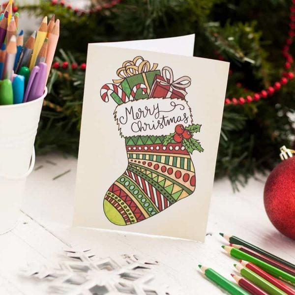 20 Christmas Cards (2 sizes included)