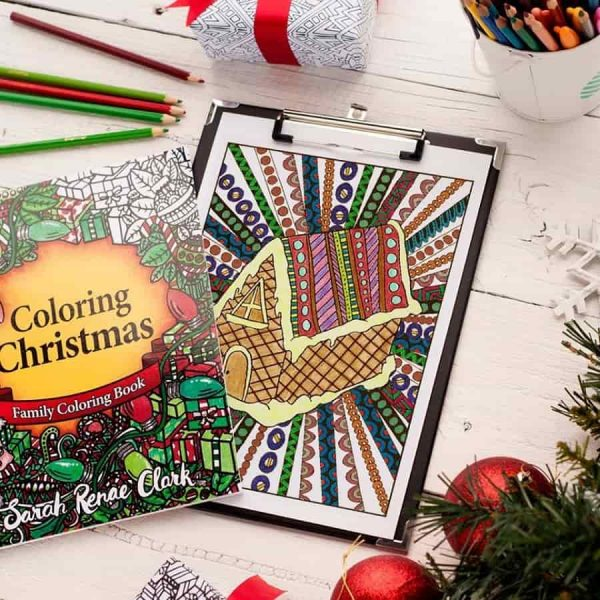 Colouring Christmas Book