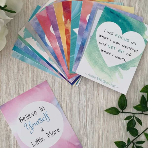 "Affirmation Cards for ""Teen Girls"" are great for ages 12-17 yrs. Our Teen Girls pack deals with issues such as: friendship, confidence, happiness & positivity, boundary setting, self confidence and positive self talk."