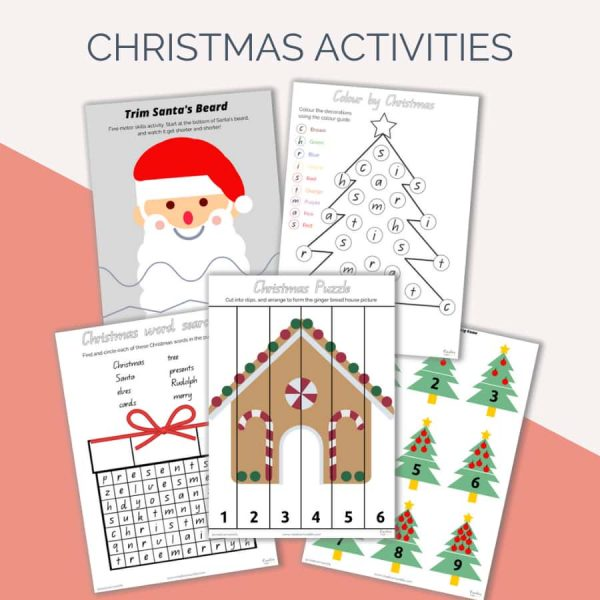 Christmas Kids Activity Pack
