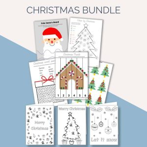 Christmas Kids Activity Bundle