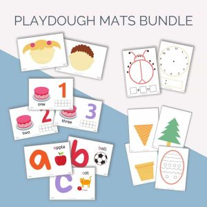 Playdough Mats Bundle