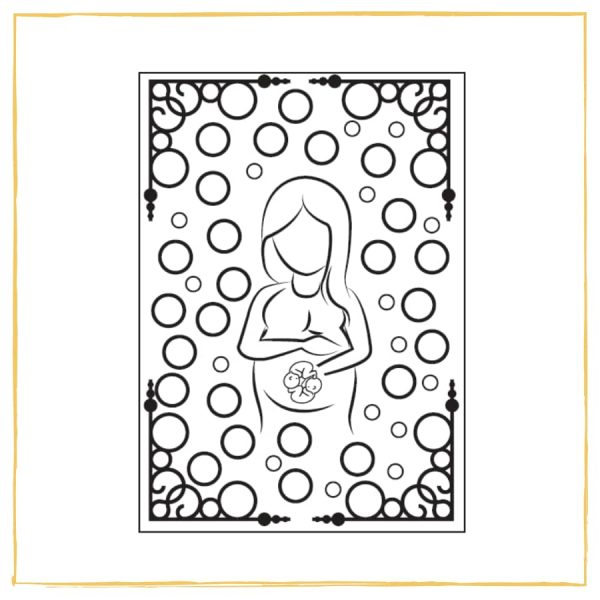 Mindful Colouring for Twin Pregnancy