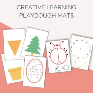 Creative Play Playdough Mats